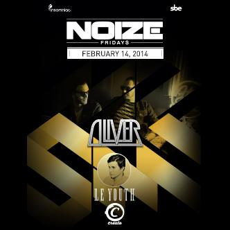 NOIZE FRIDAYS- OLIVER/LE YOUTH: Main Image