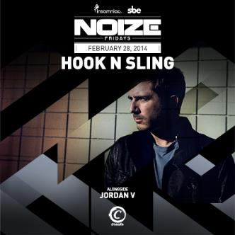 NOIZE FRIDAYS - HOOK N SLING: Main Image