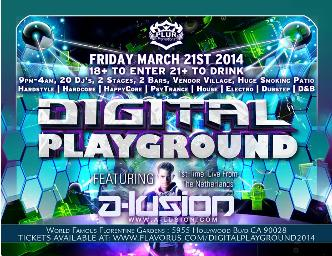 Digital Playground 2014: Main Image