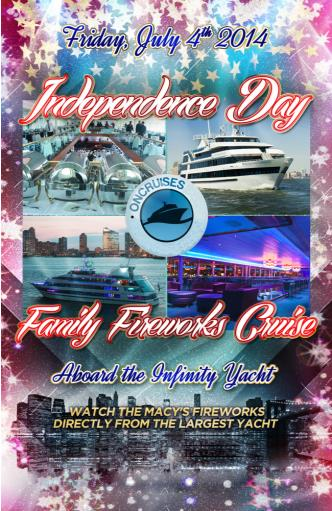 4th of July - Infinity Yacht