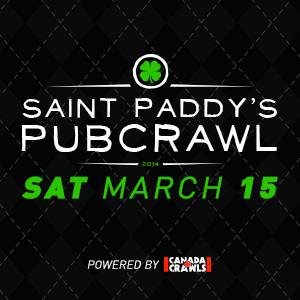 The Saint Paddy's Pubcrawl