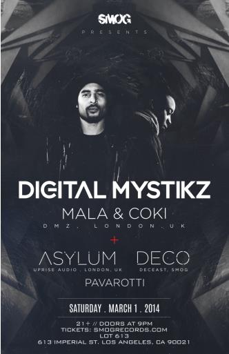 SMOG presents DIGITAL MYSTIKZ: Main Image