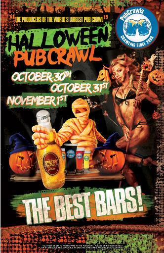 Halloween PubCrawl Boston