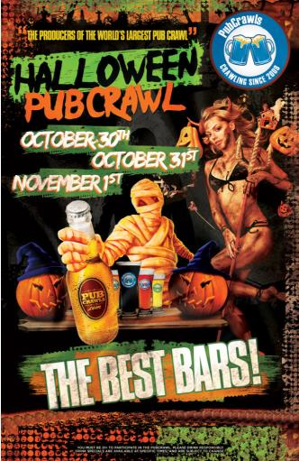 Halloween PubCrawl Raleigh