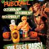 Halloween PubCrawl Raleigh @ The Architect Bar and Social House