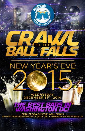 Crawl Til The Ball Falls In DC