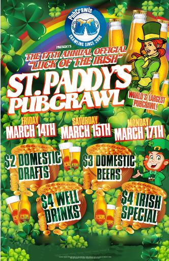 St Patricks Day Crawl - Philly