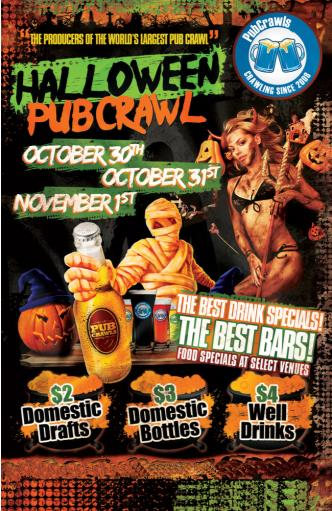 Halloween Pubcrawl in Toronto