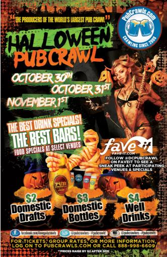 Post Halloween Pubcrawl in DC