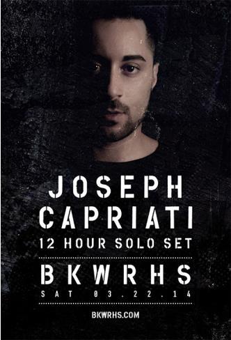 BKWRHS: Joseph Capriati: Main Image