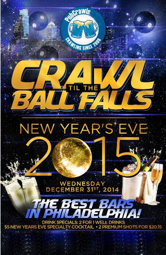 New Years Eve PubCrawl-Philly