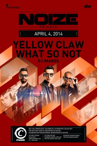 YELLOW CLAW & WHAT SO NOT: Main Image