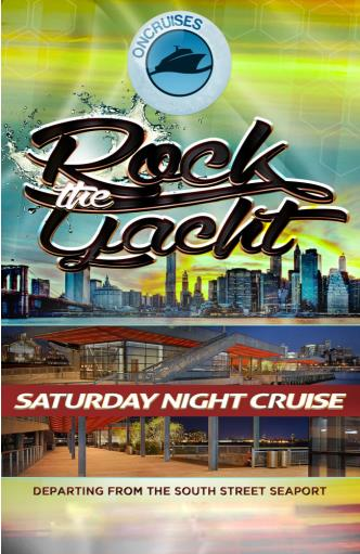Saturday Rock the Yacht Party