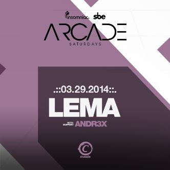 ARCADE SATURDAYS - LEMA: Main Image