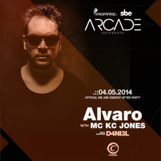 ARCADE SATURDAYS - ALVARO: Main Image