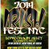 Leprechaun Alley Irish Fest NY at Sankeys NYC