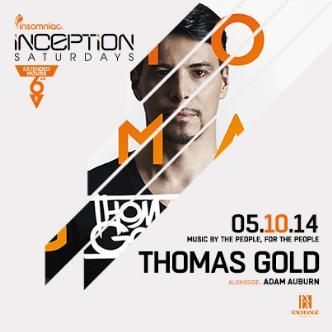Inception ft. Thomas Gold: Main Image