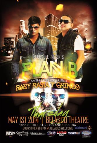 Plan B w/ Baby Rasta Y Gringo: Main Image