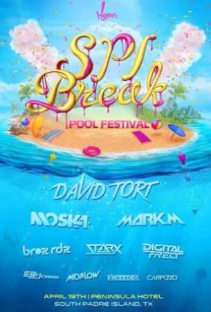 SPI BREAK POOL FESTIVAL: Main Image