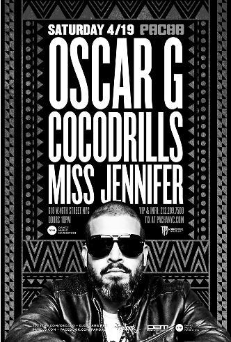 Oscar G, CocoDrills & More: Main Image