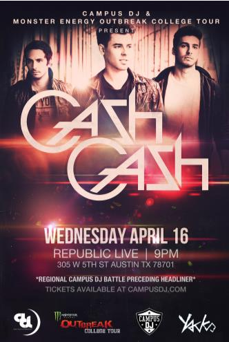 Cash Cash + Campus DJ: Main Image