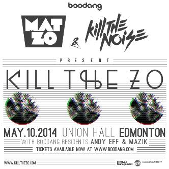 KILL THE ZO TOUR - YEG: Main Image