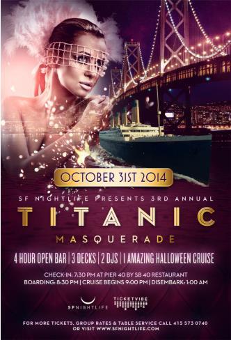 Titanic Masquerade   Halloween
