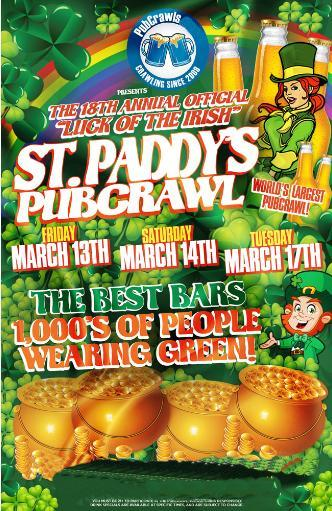 Baltimore St Paddy's PubCrawl