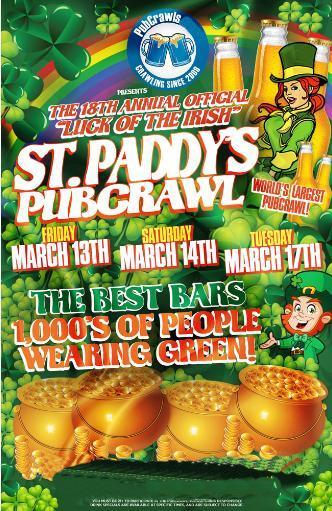 Hartford St Paddy's PubCrawl