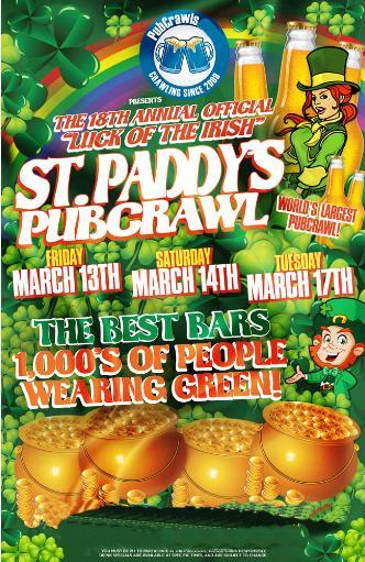 Pittsburgh St Paddy's PubCrawl
