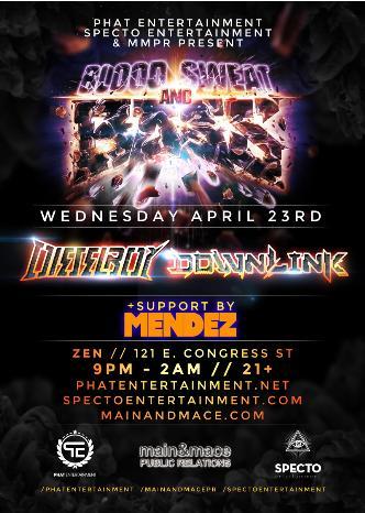 Downlink & Dieselboy BSB Tour: Main Image