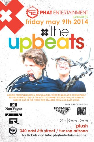 The Upbeats at Plush: Main Image