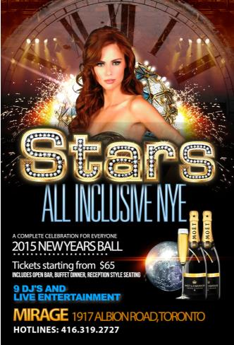 Stars All Inclusive NYE