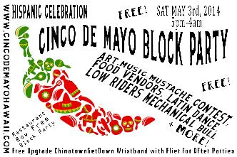 Cinco De Mayo Block Party 5pm: Main Image