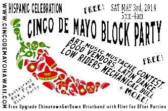 Cinco De Mayo Block Party 5pm: Main Image