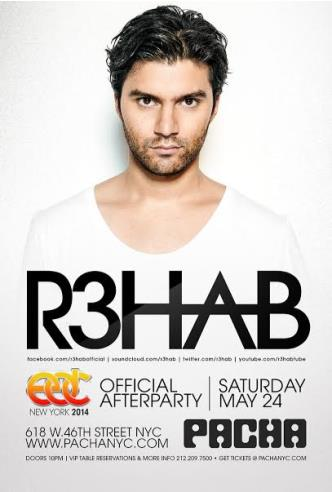 EDC NY Afterparty w/ R3HAB: Main Image