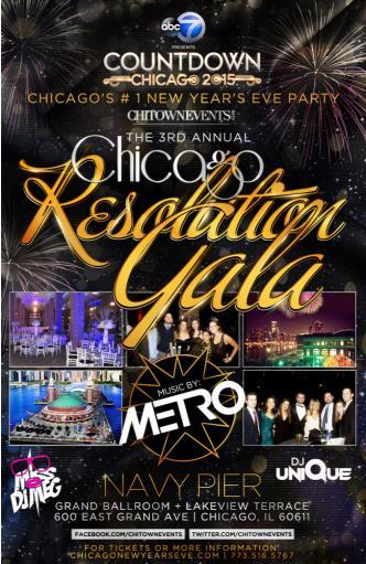 Annual Chicago Resolution Gala