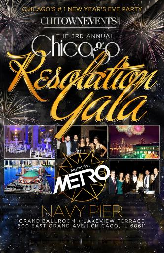 Annual Chicago Resolution Gala