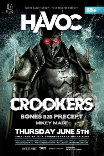 Havoc OC ft. Crookers: Main Image