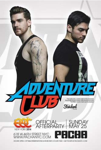 EDC Afterparty: Adventure Club: Main Image