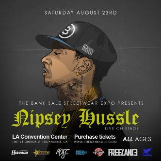 Nipsey Hussle Live Bank Sale V-img