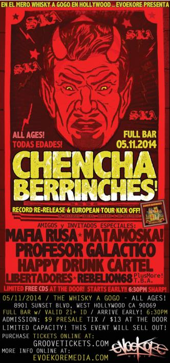 CHENCHA BERRINCHES Cd Release!: Main Image