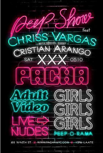 Peep Show w/ Chriss Vargas: Main Image