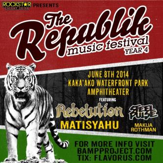 Republik Music Festival OAHU: Main Image