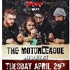 The Motorleague and Splitract at The Roxy Cabaret