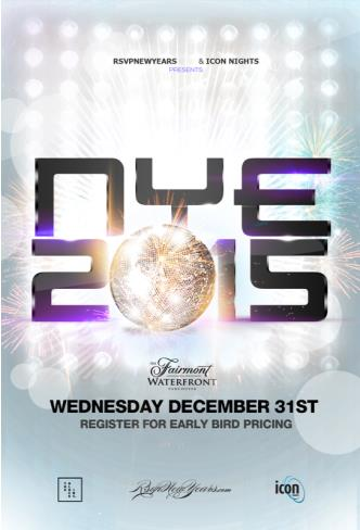 NYE 2015 Waterfront Gala Ball