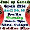 STAND UP COMEDY THURSDAY at Goldies Pizza & Beer Lounge