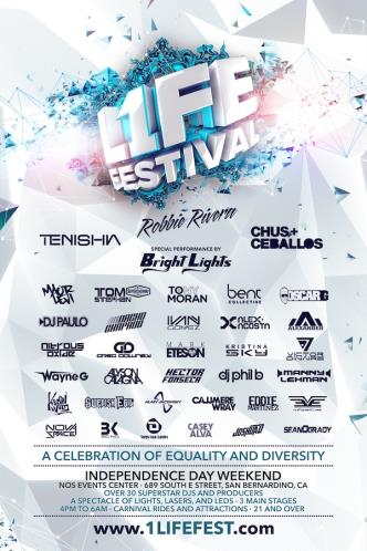 1LIFE FESTIVAL SINGLE DAY: Main Image