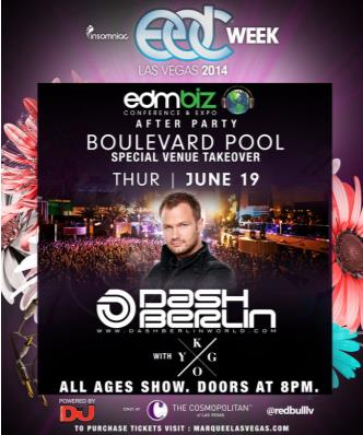EDMbiz Afterparty-Dash Berlin: Main Image