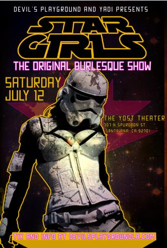STAR GIRLS July 12 @ The Yost: Main Image